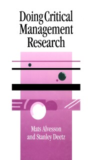Cover Doing Critical Management Research