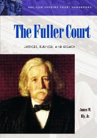 Cover The Fuller Court