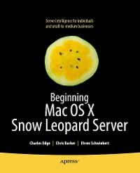 Cover Beginning Mac OS X Snow Leopard Server
