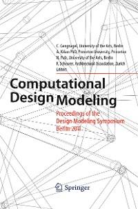 Cover Computational Design Modeling