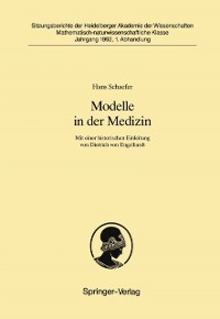 Cover Modelle in der Medizin