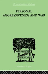 Cover Personal Aggressiveness and War
