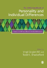 Cover The SAGE Handbook of Personality and Individual Differences