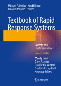 Cover Textbook of Rapid Response Systems
