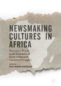 Cover Newsmaking Cultures in Africa