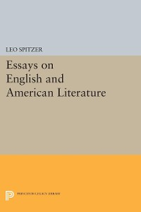 Cover Essays on English and American Literature