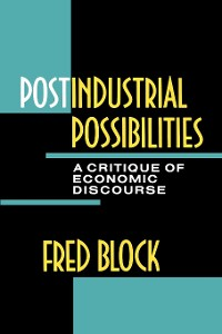 Cover Postindustrial Possibilities