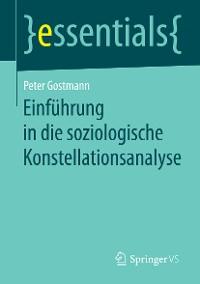 Cover Einführung in die soziologische Konstellationsanalyse