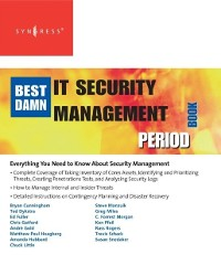 Cover Best Damn IT Security Management Book Period