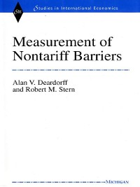 Cover Measurement of Nontariff Barriers