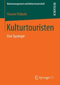 Cover Kulturtouristen