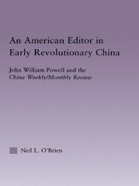 Cover American Editor in Early Revolutionary China