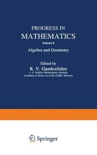 Cover Progress in Mathematics