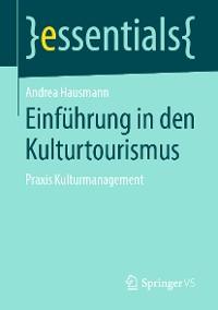 Cover Einführung in den Kulturtourismus