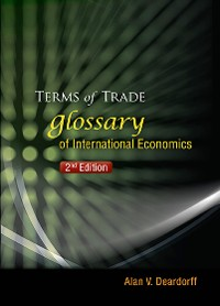 Cover Terms Of Trade: Glossary Of International Economics (2nd Edition)