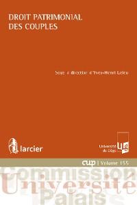 Cover Droit patrimonial des couples