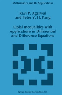 Cover Opial Inequalities with Applications in Differential and Difference Equations