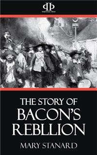 Cover The Story of Bacon's Rebellion