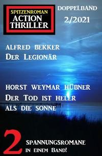 Cover Spitzenroman Action Thriller Doppelband 2/2021