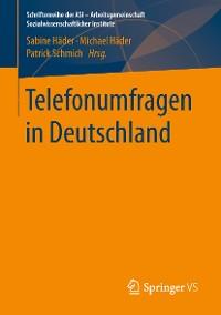 Cover Telefonumfragen in Deutschland