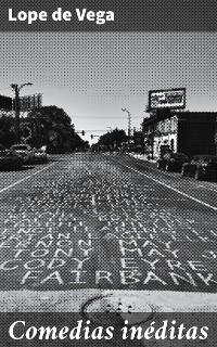 Cover Comedias inéditas