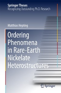 Cover Ordering Phenomena in Rare-Earth Nickelate Heterostructures