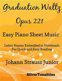 Cover Graduation Waltz Opus 221 Easiest Piano Sheet Music