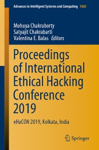 Cover Proceedings of International Ethical Hacking Conference 2019