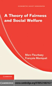 Cover Theory of Fairness and Social Welfare