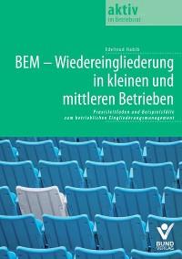 Cover BEM - Wiedereingliederung in kleinen und mittleren Betrieben