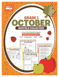 Cover October Monthly Collection, Grade 1