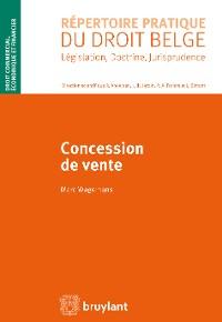 Cover Concession de vente