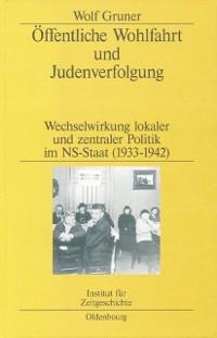 Cover Offentliche Wohlfahrt und Judenverfolgung