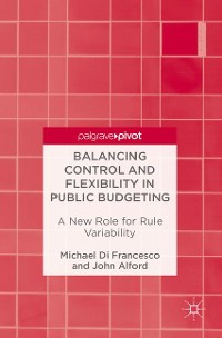 Cover Balancing Control and Flexibility in Public Budgeting