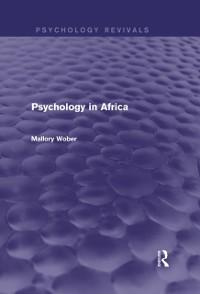 Cover Psychology in Africa (Psychology Revivals)