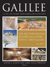 Cover Galilee in the Late Second Temple and Mishnaic Periods