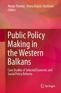 Cover Public Policy Making in the Western Balkans