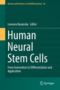 Cover Human Neural Stem Cells