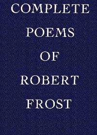 Cover Complete Poems of Robert Frost