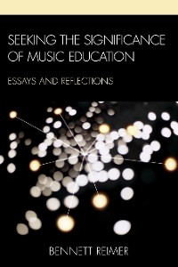 Cover Seeking the Significance of Music Education