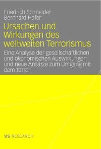 Cover Ursachen und Wirkungen des weltweiten Terrorismus