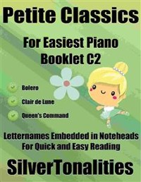Cover Petite Classics for Easiest Piano Booklet C2