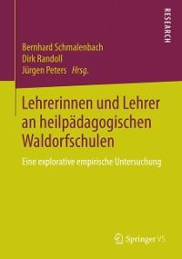 Cover Lehrerinnen und Lehrer an heilpädagogischen Waldorfschulen