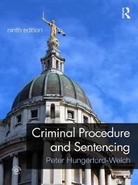Cover Criminal Procedure and Sentencing