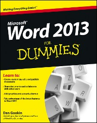 Cover Word 2013 For Dummies