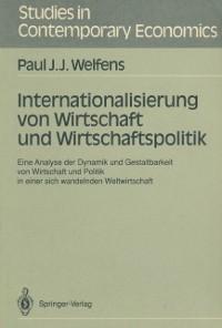 Cover Internationalisierung von Wirtschaft und Wirtschaftspolitik