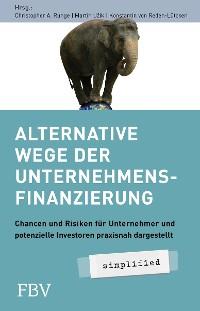 Cover Alternative Wege der Unternehmensfinanzierung