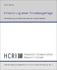 Cover Entwicklung einer Forschungsfrage