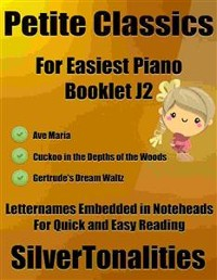 Cover Petite Classics for Easiest Piano Booklet J2