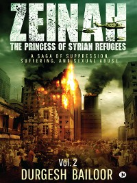 Cover Zeinah The Princess of Syrian Refugees